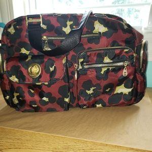 Baggallini travel tote with bonus makeup bag